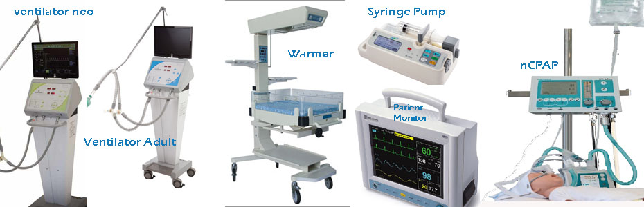 Life support & Neonatal Equipment
